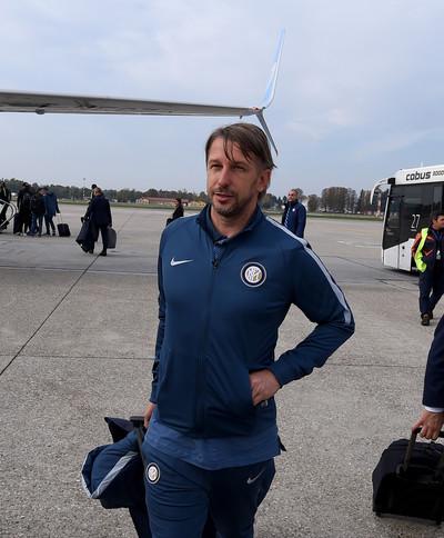 Inter a Southampton con Vecchi