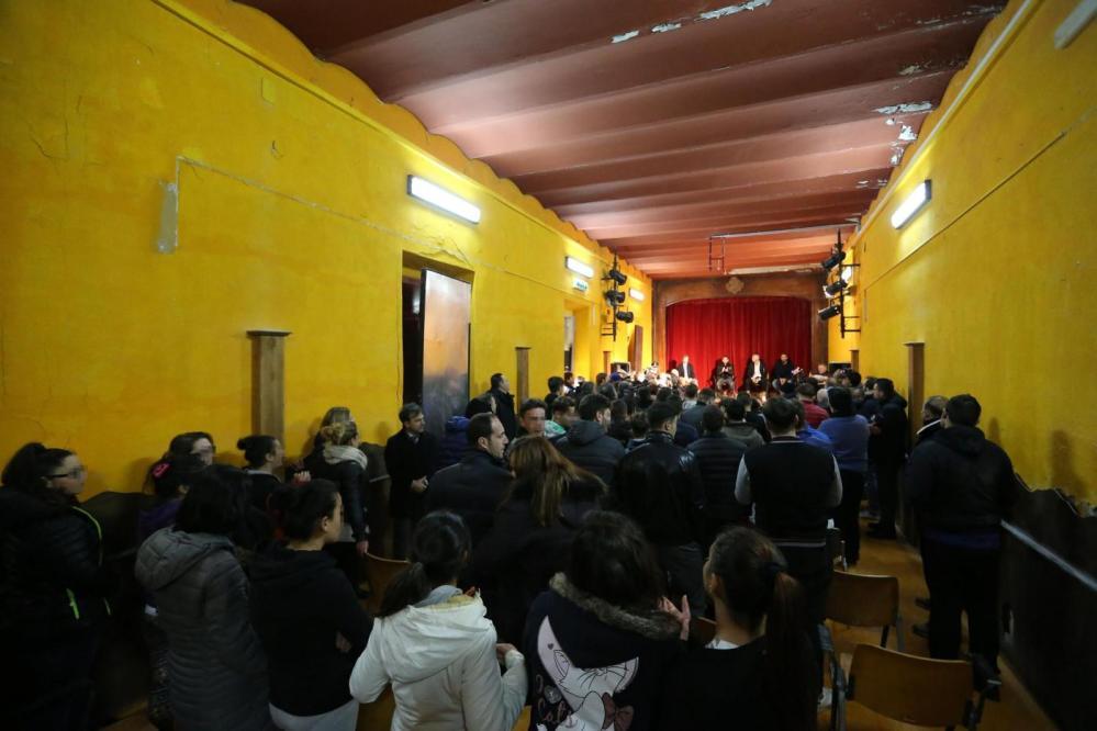 Napoli, calciatori in visita al carcere Nisida