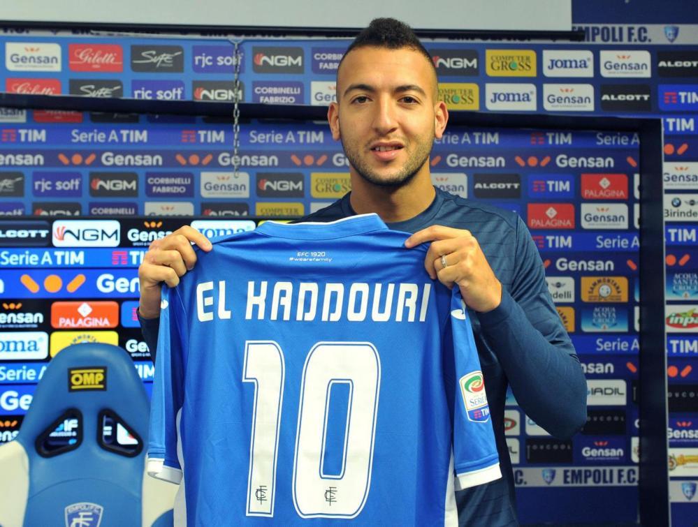 Prima giornata da giocatore dell'Empoli per Omar El Kaddouri, centrocampista proveniente dal Napoli.