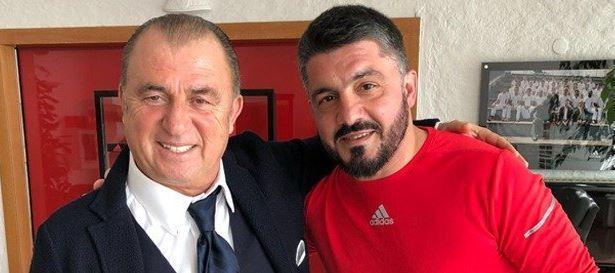 Terim a Milanello incontra Gattuso