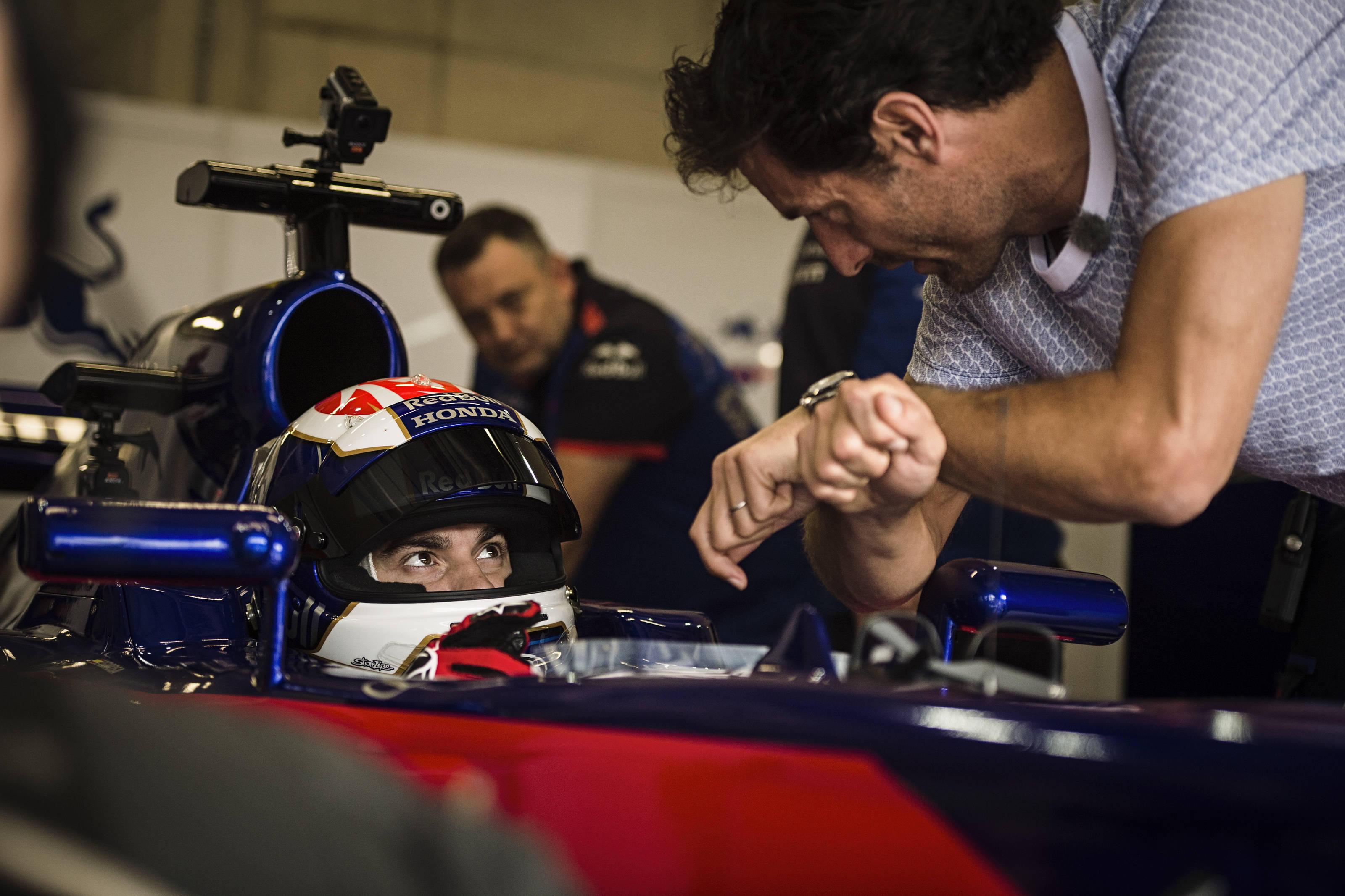 Pedrosa, test F1