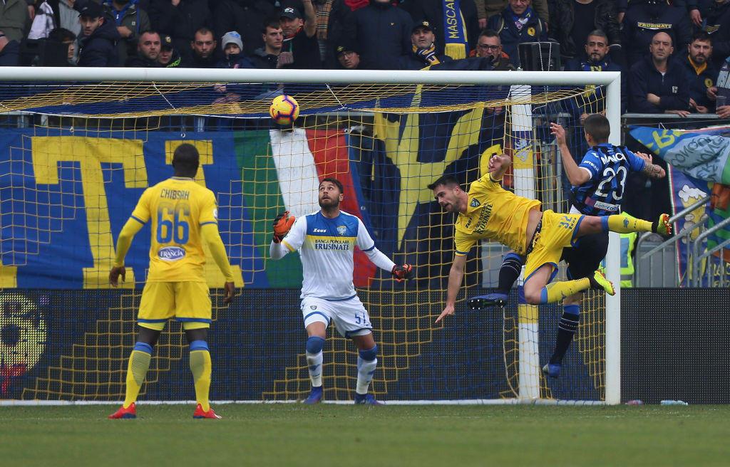 Serie A, Frosinone-Atalanta 0-5: Zapata inarrestabile, quattro gol
