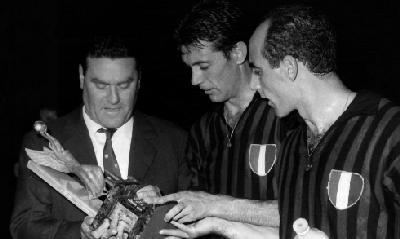Nereo Rocco e Cesare Maldini, Lapresse