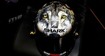 Il casco speciale di Redding foto MotoGP