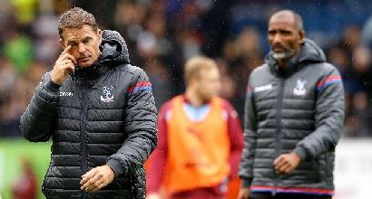 Premier, Crystal Palace: esonerato De Boer