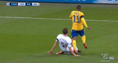 "Champions, la moviola di Tottenham-Juventus: ""Voto 3 all'arbitro"""