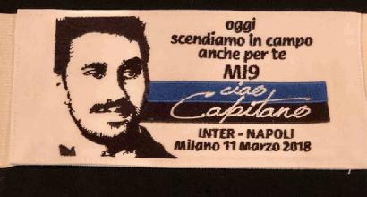 Da capitano a capitano, Icardi omaggia Astori: una fascia per Davide contro il Napoli