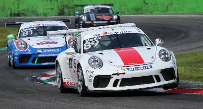 La Porsche Carrera Cup Italia al giro di boa 2018 a Misano