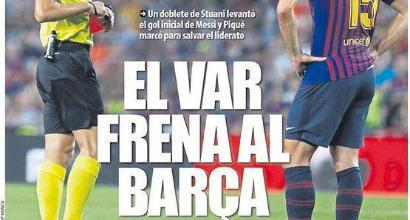 Liga, il Barcellona contesta il Var: ricorso contro la squalifica di Lenglet