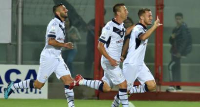 Serie B: pari e spettacolo tra Crotone e Brescia, finisce 2-2