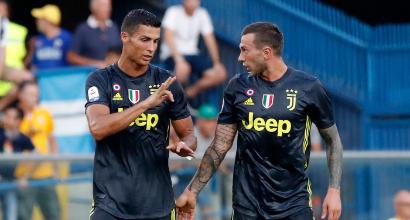 """Juve, Bernardeschi: """"Ronaldo meglio di Messi, è il più forte al mondo"""""""