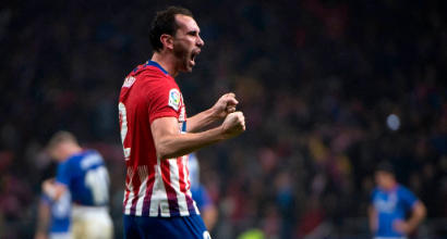 Godin, Simeone apre all'addio:
