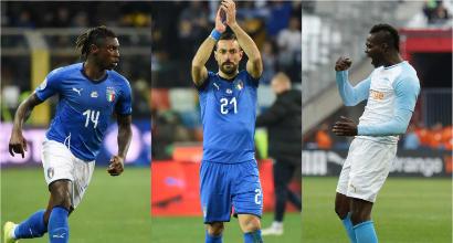 """Kean-Balotelli-Quagliarella, i tre uomini del Mancio: """"Se Mario vuole ha doti incredibili"""""""