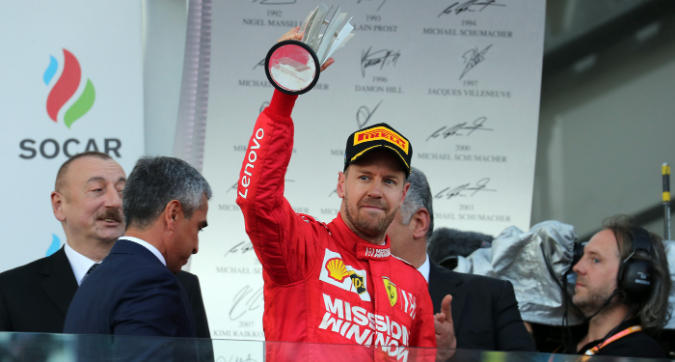 F1 Azerbaigian, Vettel: