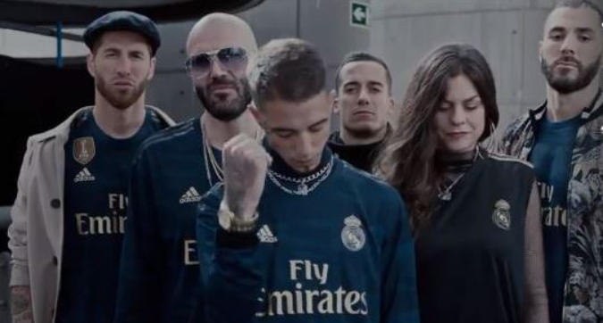 Real Madrid, un video rap per presentare la seconda maglia