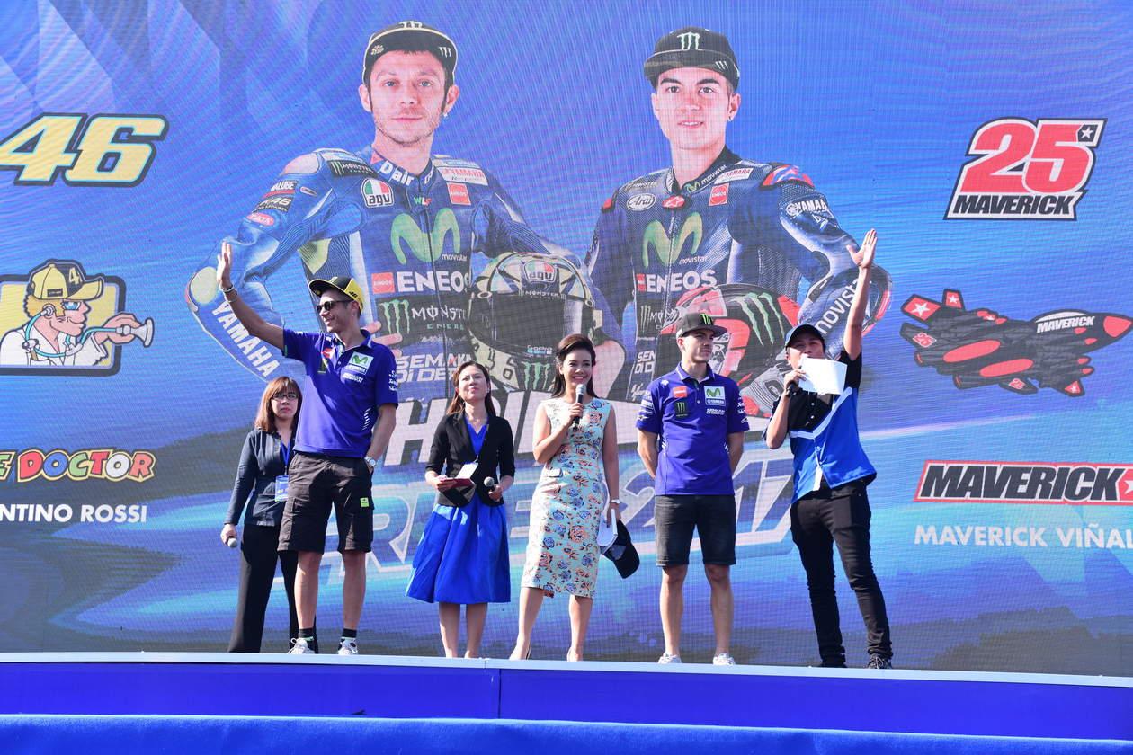 MotoGP, Rossi e Vinales in tour in Asia