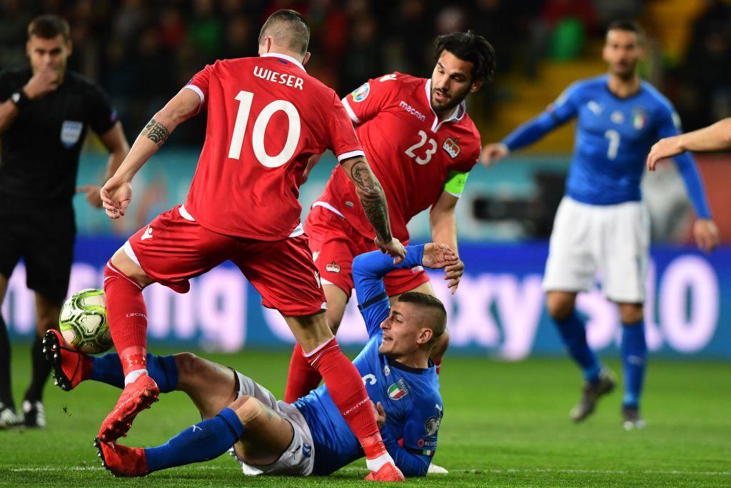 Qualificazioni Euro 2020: l'Italia passeggia col Liechtenstein