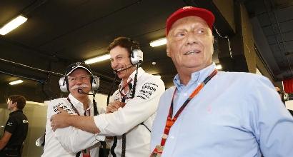 """Lauda ironizza sulla Ferrari: """"Se fanno gli spaghetti è colpa nostra?"""""""