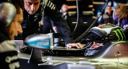 MotoGP-F1, Lorenzo sulla Mercedes di Hamilton