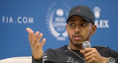 """F1, Hamilton: """"Non penso al record di Schumi, ma voglio raggiungere Fangio"""""""