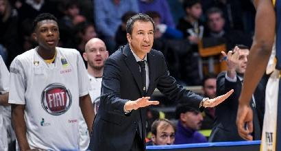 Basket, Serie A: Torino facile su Reggio Emilia, vince anche Trento