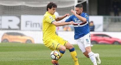 Chievo - Sampdoria: cronaca diretta, risultato in tempo reale