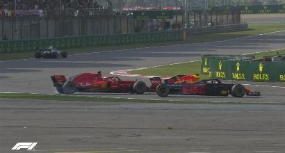 "F1, GP Cina - Vettel: ""Verstappen? Nulla da aggiungere..."""