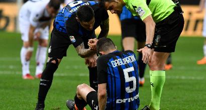 Inter, Gagliardini ko: lesione alla coscia destra