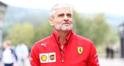 """Ferrari, Arrivabene punge Hamilton: """"Lui mago della pioggia, noi dell'asciutto"""""""