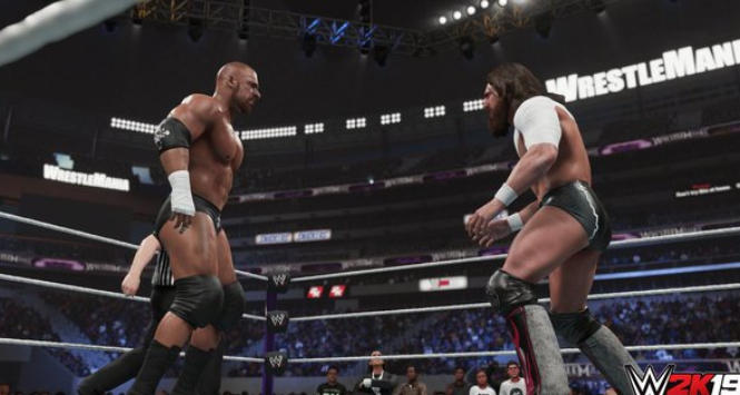 Lo spettacolo del wrestling è tutto in WWE 2K19