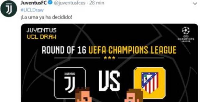 Juventus, lo stemma sbagliato fa felici i tifosi dell'Atletico Madrid
