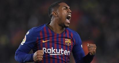 Coppa del Re, spettacolo al Camp Nou: Malcom riprende il Real e tiene vivo il Barcellona