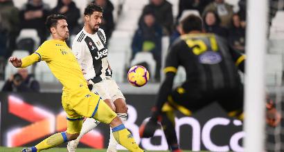 Juventus, infortunio Khedira: il tedesco deve operarsi, stagione finita