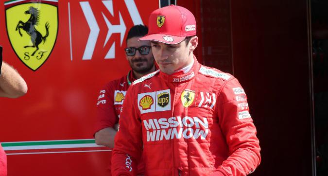 F1 Azerbaigian, Leclerc: