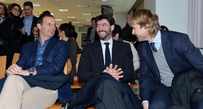 """Juventus divisa su Allegri, l'ha spuntata Nedved: """"Se resta Max, vado via io"""""""