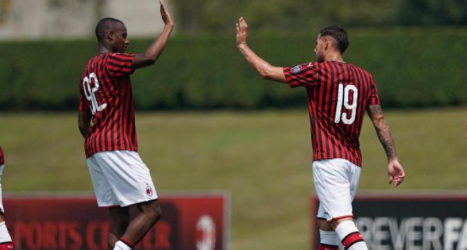 Amichevole, Milan-Novara 1-1: Theo Hernandez segna il gol del pari