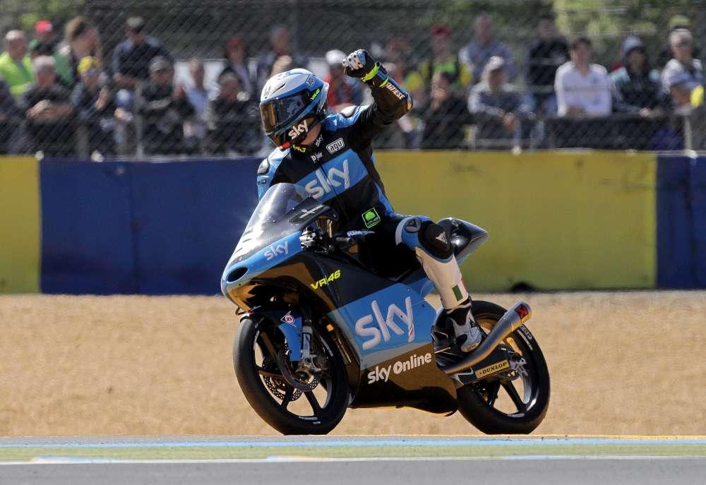 Moto3, festa tutta italiana a Le Mans