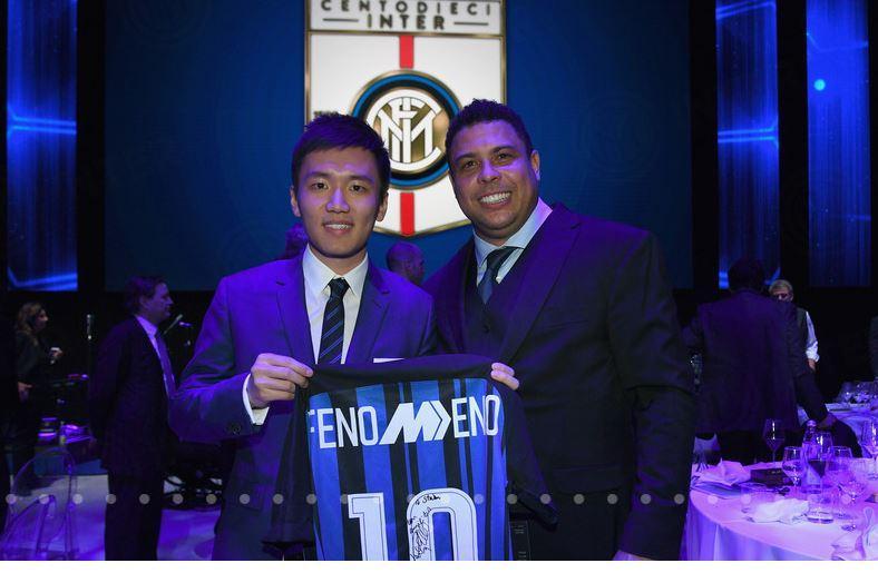 Steven Zhang e Ronaldo