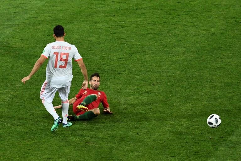 Portogallo-Spagna 3-3: CR7 inizia con una tripletta