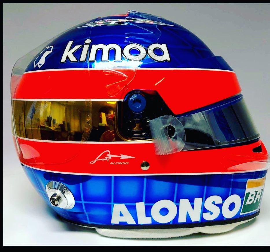 """Alonso, un casco """"storico"""" per l'addio"""