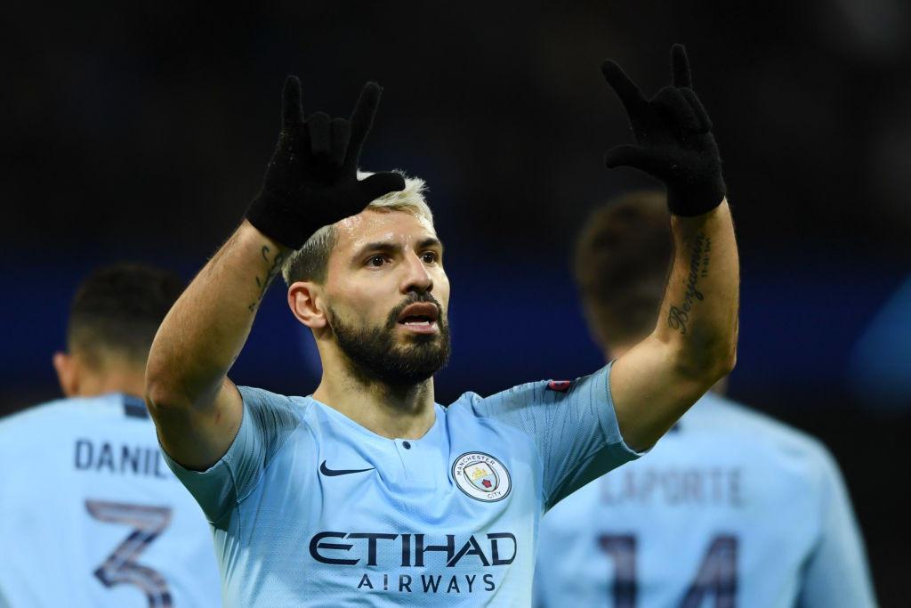 8) AGUERO (Manchester City) - 36