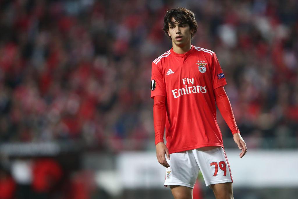 Joao Felix, attaccante del Benfica: è seguito da Jorge Mendes, procuratore di Cristiano Ronaldo e Cancelo
