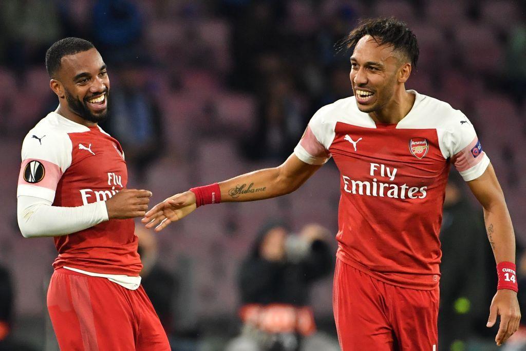 Napoli-Arsenal, ritorno dei quarti di Europa League, in foto