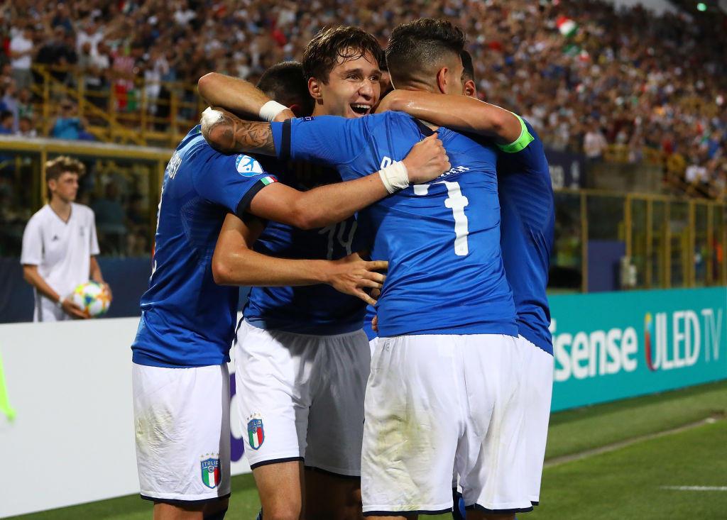 Europei U21: le foto di Italia-Spagna