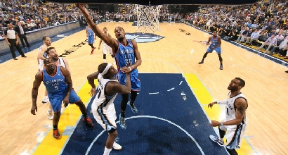 Nba, playoff: Durant doma i Grizzlies, Pacers ok