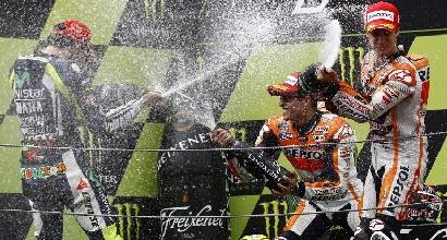 Rossi Marquez e Pedrosa foto AFP