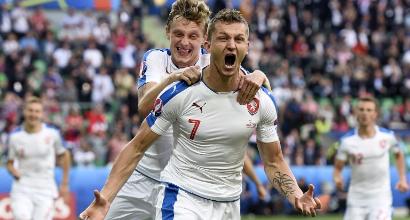 Euro 2016, Rep. Ceca-Croazia 2-2: Skoda e Nedic riacciuffano Perisic e Rakitic