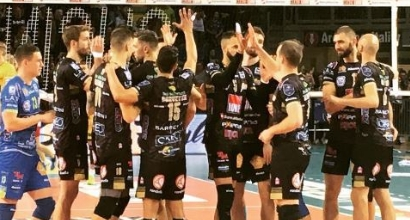 Volley: Perugia e Civitanova prime