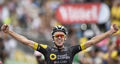Tour de France 2017, ottava tappa: trionfa Calmejane dopo una fuga di oltre 120km