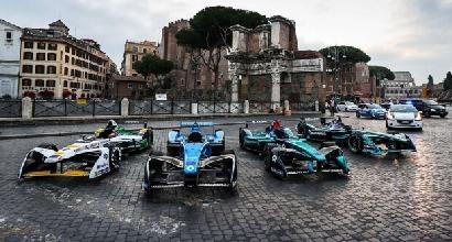 Formula E: Mediaset è pronta per Roma, 15 camere esclusive